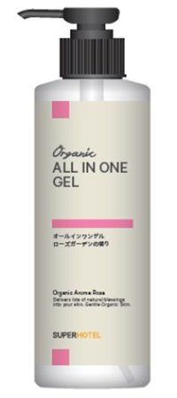 Organic Aroma Rosaオールインワンゲル状美容液 マイルド 245mlボトル【宅配便60】